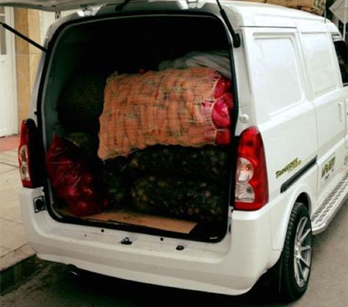 Transporte de Mercados, Frutas y Verduras